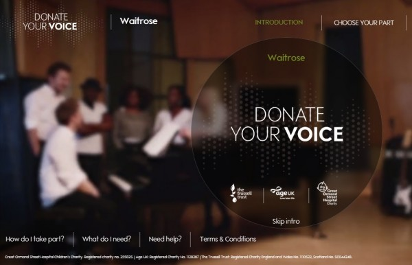 waitrose-donate-your-voice