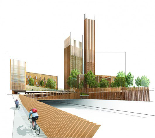 556cb66ee58ece956600001a_mga-proposes-world-s-tallest-wood-building-in-paris_mga_paris_wood_bike_ramp_vignette_lowres-530x473